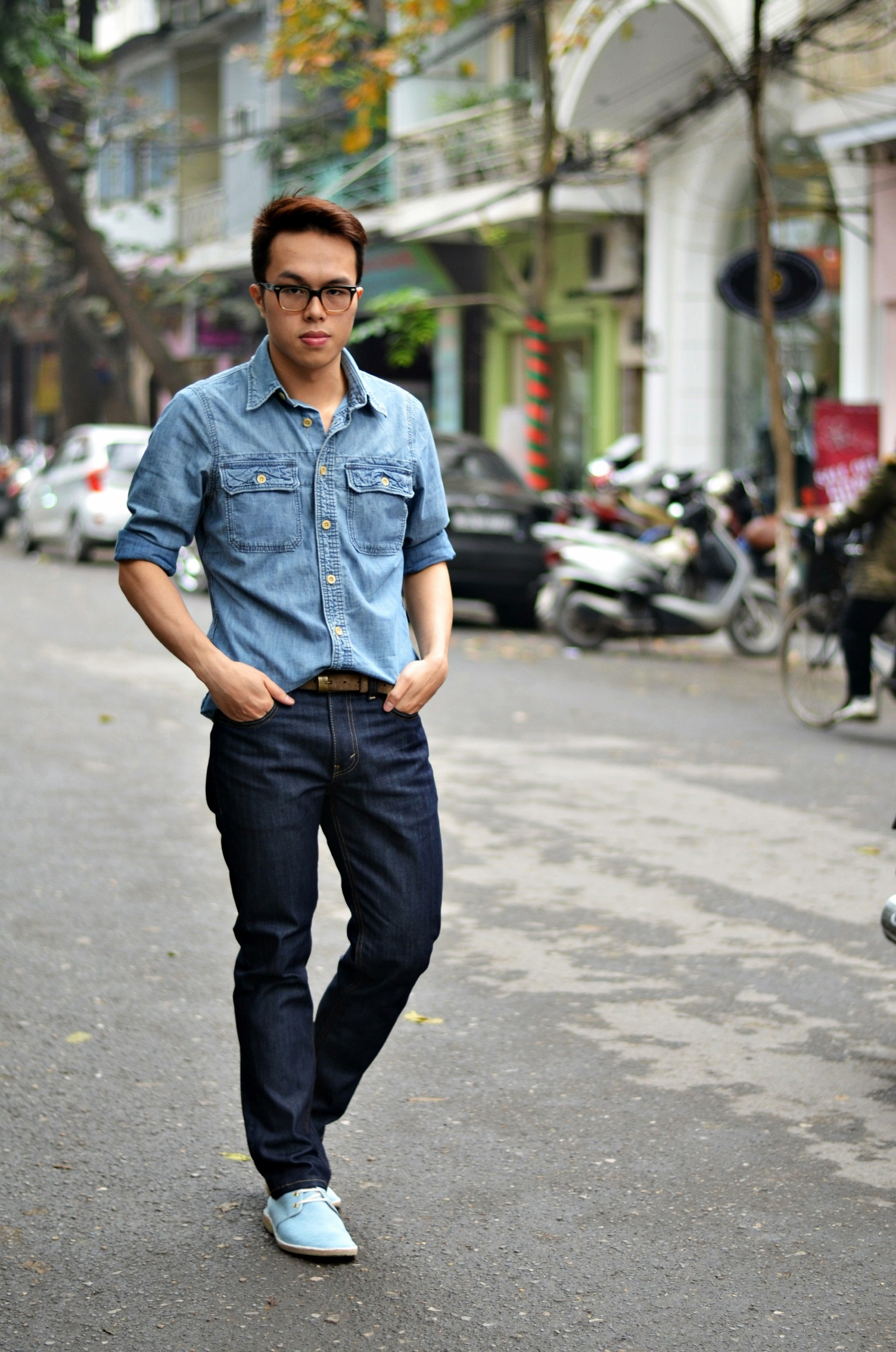 How to wear denim on denim | The Confused Dasher