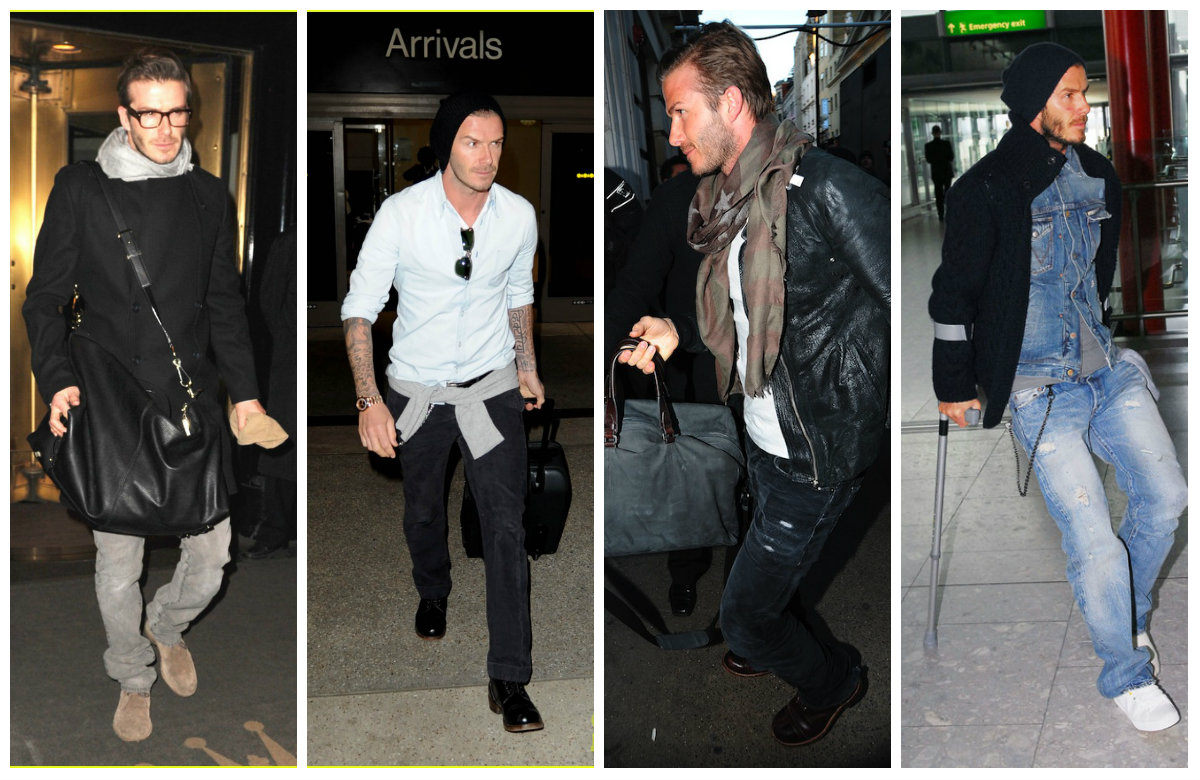 How To Dress Like David Beckham The Confused Dasher