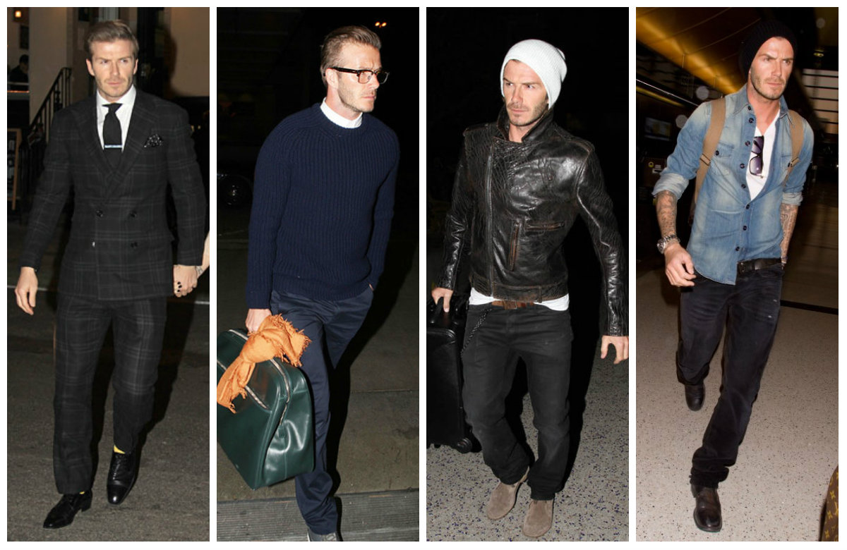 David Beckham Casual Fashion 2013 Images Galleries With A Bite