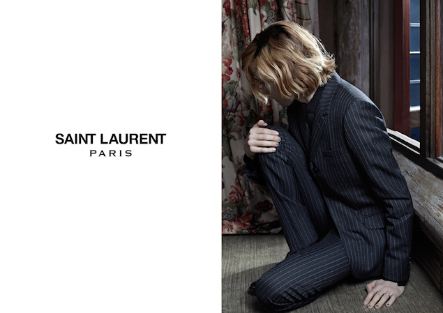 Saint Laurent Fall 2103 Ads 1