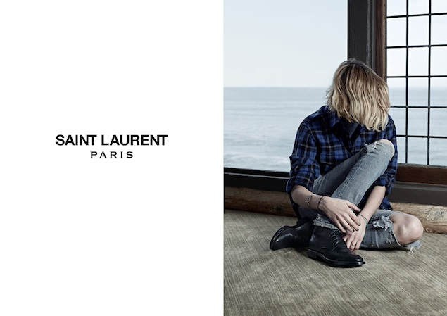 Saint Laurent Fall 2103 Ads 2