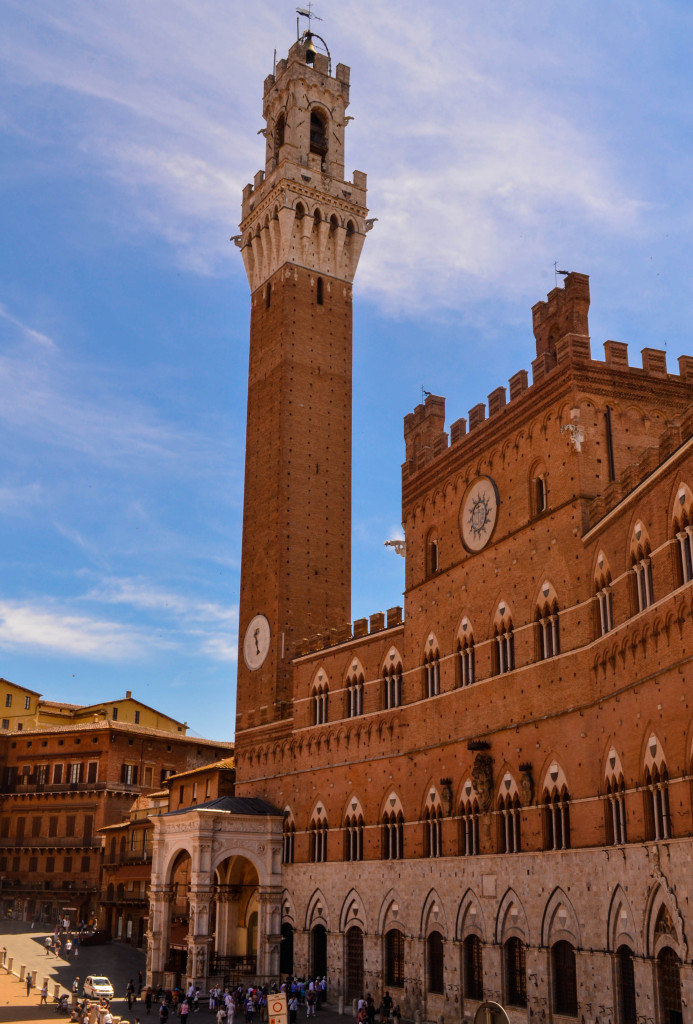 Piazza del Campo, The Best of Tuscany Tour, Walkabout Florence, Siena,