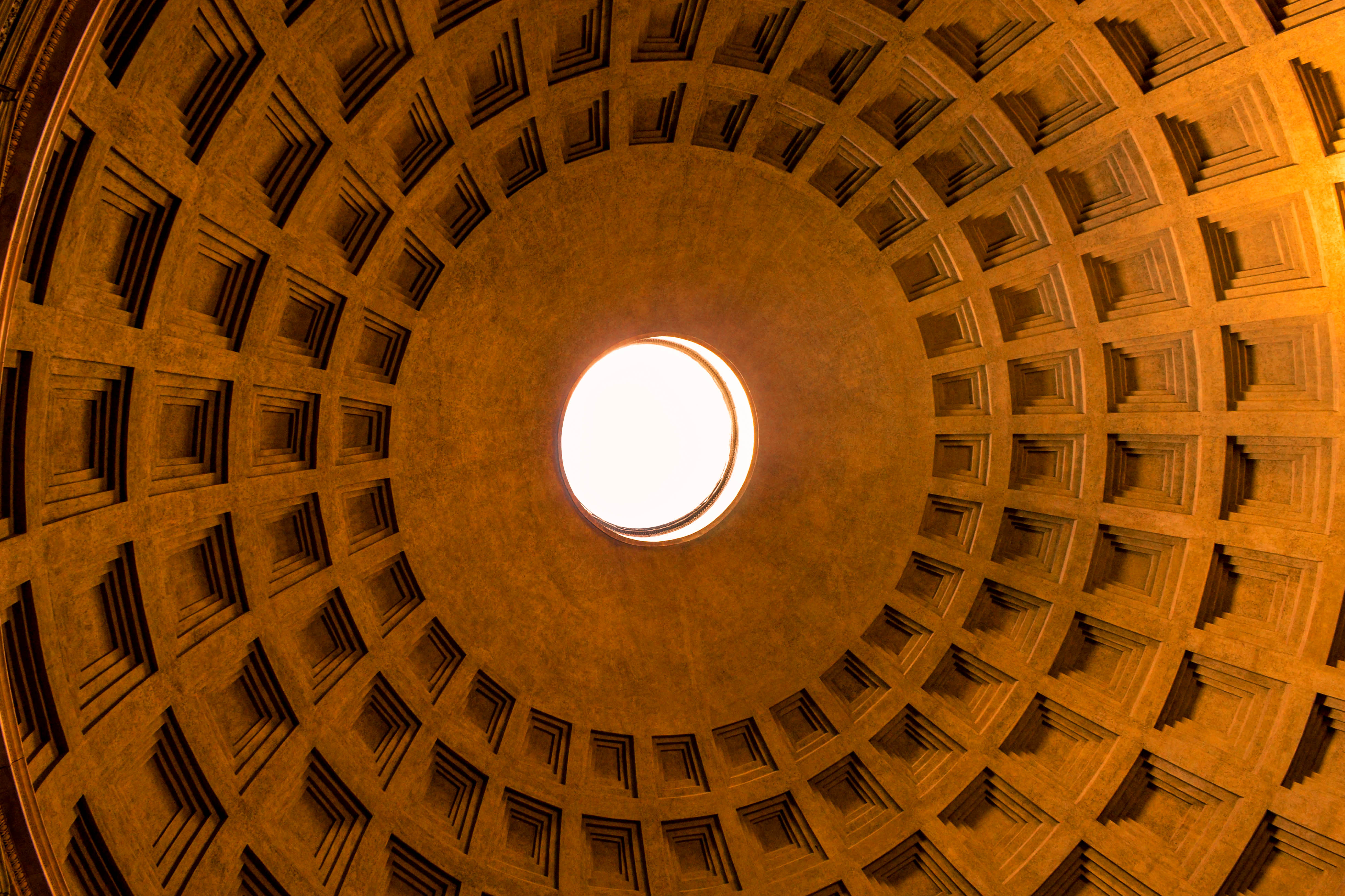 Pantheon is one of the best known and best preserved temples of ancient Rome