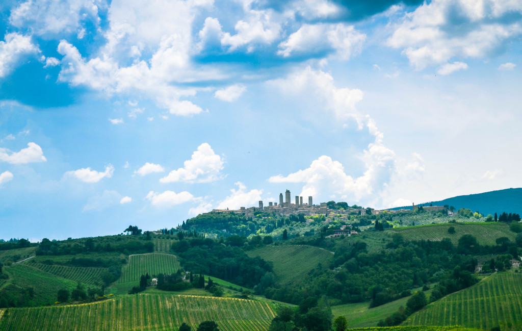 enchanting hilltop town of San Gimignano, The Best of Tuscany Tour, Walkabout Florence,