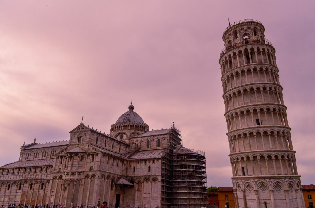 Pisa at dusk, The Best of Tuscany Tour, Walkabout Florence