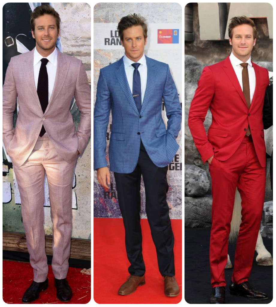armie hammer lone ranger premiere tom ford, gucci, red carpet