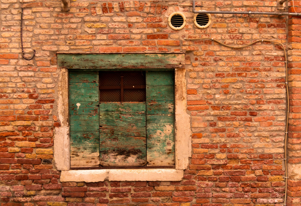 Photography of Venice, Cannaregio, windows