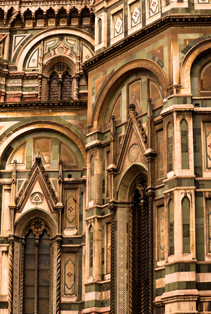 duomo florence italy in the rain