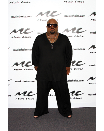 Cee Lo Green of Goodie Mob visits 'U&A' at Music Choice on August 5, 2013 in New York City
