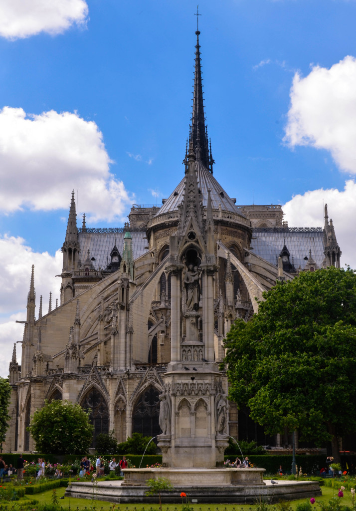 Notre Dame de Paris, confused dasher, 5 day itinerary in paris, beautiful church architecture in paris, tips and tricks to visit Notre Dame de Paris