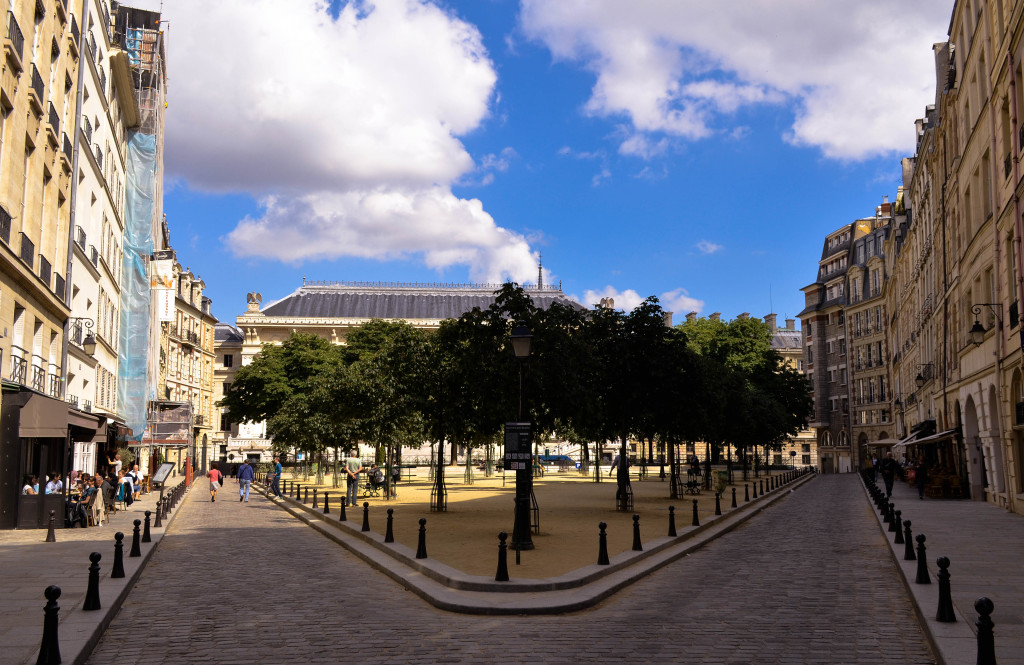 paris The Place Dauphine, paris 5 day itinerary, confused dasher, paris trip report