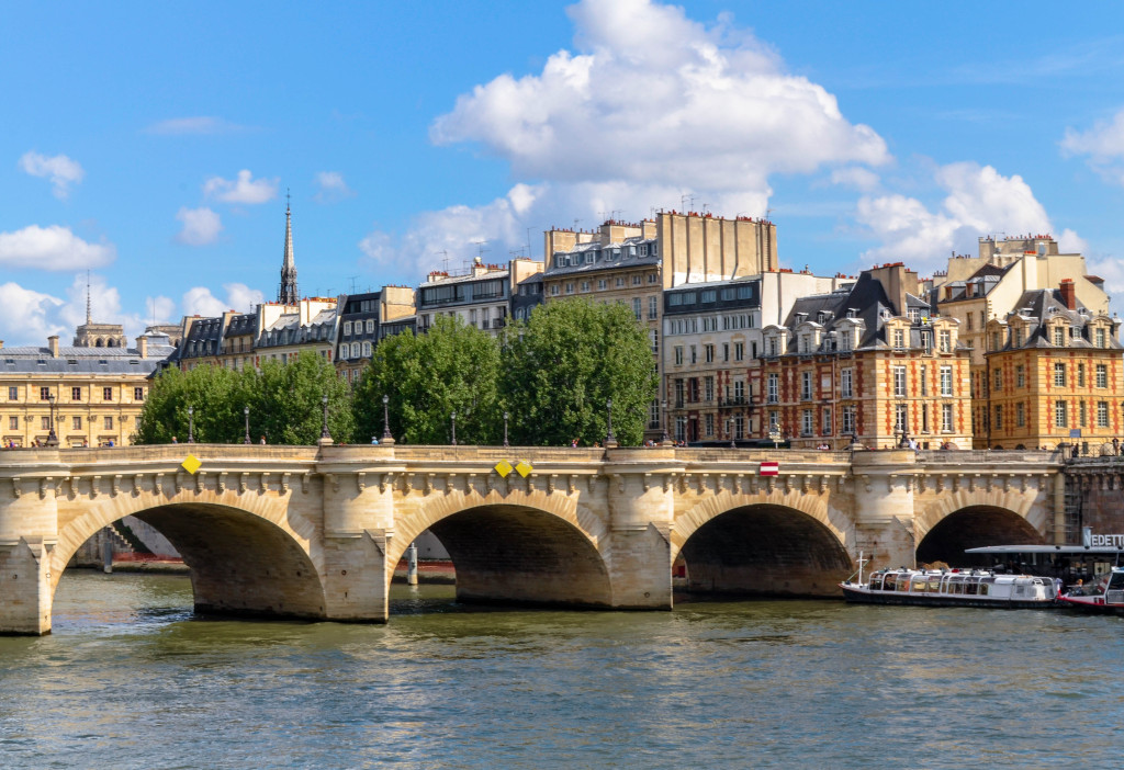 pont des arts, paris, paris 5 day trip report