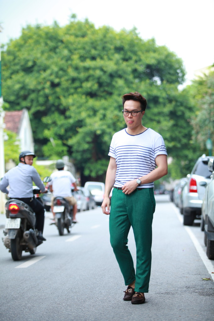 FashionBeans Men's AW13 Key Colour Trend Emerald Green
