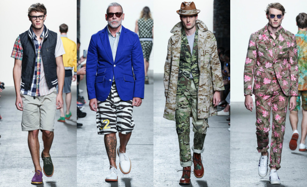 SPRING 2014 READY-TO-WEAR Mark McNairy, Nick Wooster on the runaway, New York Fashion Week September 2013
